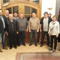 Die SPD gratulierte den Siegern des Preisschafkopfens.